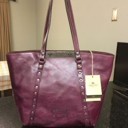 Patricia Nash NEW Benvenuto Burgundy Large Tote MSRP $199 GORGEOUS!! Must See!!