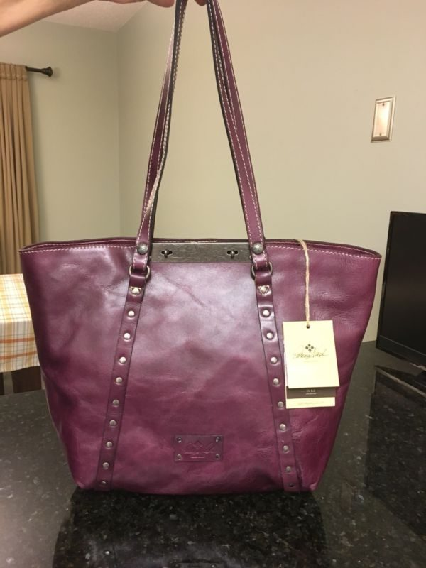 Buy Best Patricia Nash NEW Benvenuto Burgundy Large Tote MSRP $199 GORGEOUS!! Must See!!