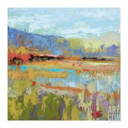 Buy Best Pause Here For A While Artists Giclee Poster Print by Jane Schmidt, 30x30