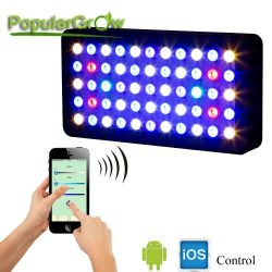 Buy Best PopularGrow WIFI 165W LED Aquarium Light Full Spectrum Freshwater Reef Coral SPS