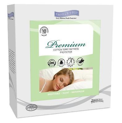 Protect-A-Bed Premium Waterproof Mattress Protector Cover NEW - Choose Your Size