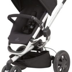 Quinny Buzz Xtra 2.0 Auto Unfold Reversible Seat Baby Stroller Rocking Black NEW