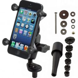 Buy Best RAM Motorcycle Fork Stem Mount w/ Short Arm & X-Grip Holder for Cell Phone, GPS