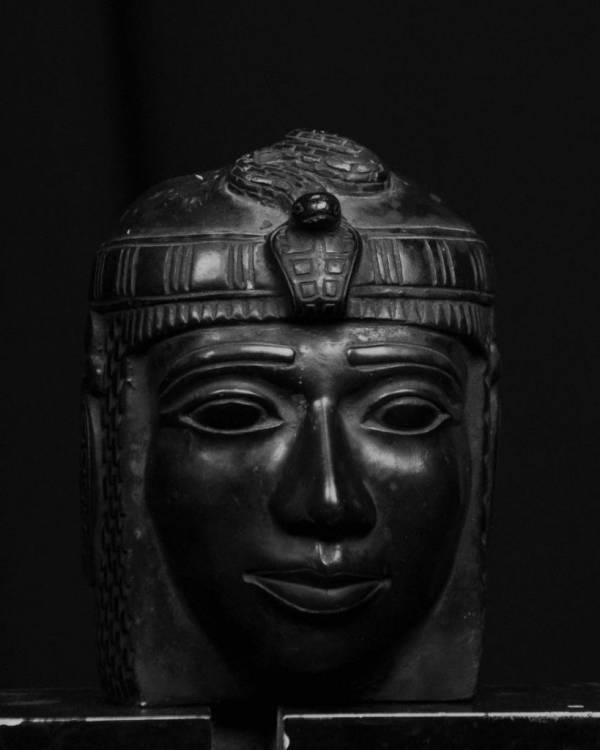 RARE EGYPTIAN ANCIENT PHARAONIC STATUE HEAD KING OF STONE ANTIQUE EGYPT BC