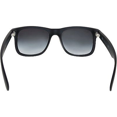 Ray-Ban Men's Gradient Justin RB4165-601/8G-51 Black Wayfarer Sunglasses