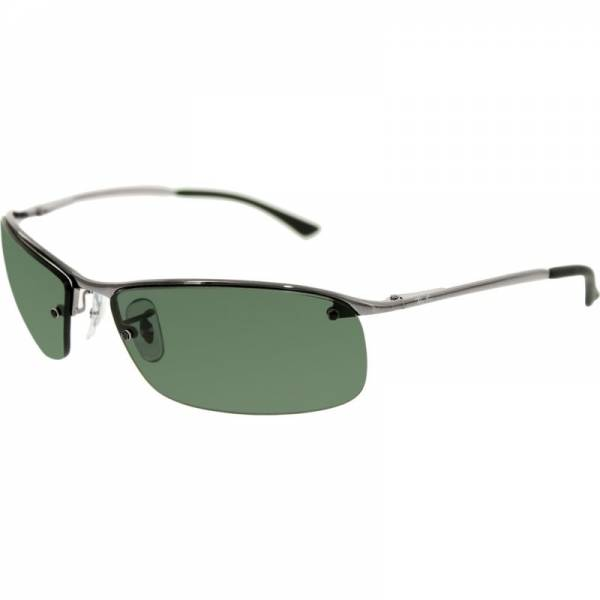 Buy Best Ray-Ban Men's RB3183 RB3183-004/71-63 Silver Semi-Rimless Sunglasses