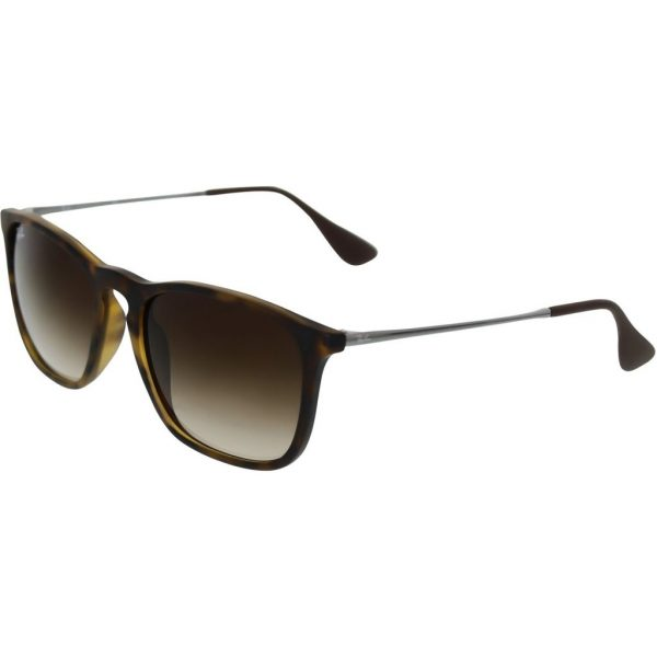 Buy Best Ray-Ban Women's Chris RB4187-856/13-54 Silver Round Sunglasses