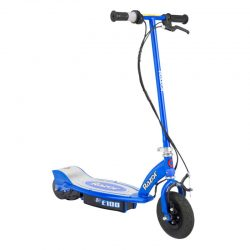 Buy Best Razor E100 Motorized 24 Volt Rechargeable Electric Power Kids Scooter, Blue