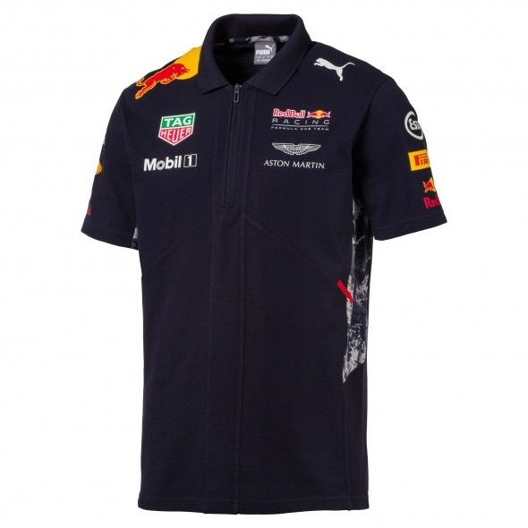 Buy Best Red Bull Racing Formula 1 Men's Blue Team Polo