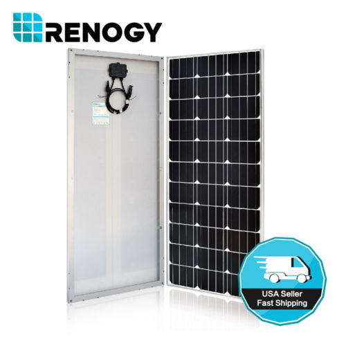 Buy Best Renogy 100W Watt Slim Design Solar Panel Mono 12V Volt Off Grid Battery Charge