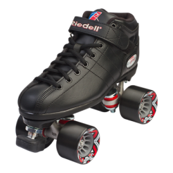 Buy Best Riedell - BLACK R3 Speed roller skates -  PowerDyne Thrust - Sonar Cayman
