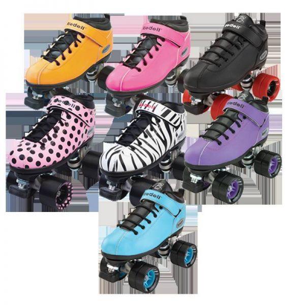 Riedell Dart Roller Skates - complete quad skates
