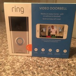Buy Best Ring Video Doorbell Smart Wi-Fi Enabled Satin Nickel Brand New