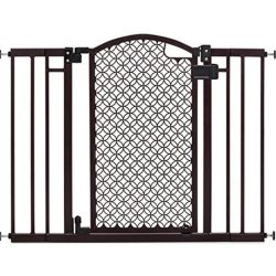Buy Best Safety Gate Walk Through Extra Wide Baby Child Pet Easy Close Fence Door Black
