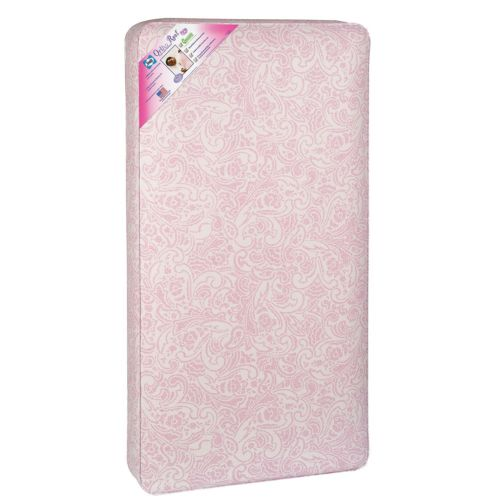 Sealy Ortho Rest Crib Mattress Pink Fits Standard Cribs And Toddler Beds