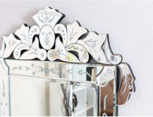 Buy Best Somette Venetian Square Clear Mirror