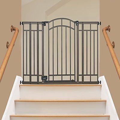 Summer Infant Multi-Use Deco Extra Tall Walk-Thru Gate, Bronze