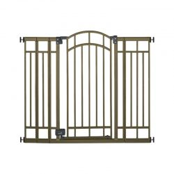 Summer Infant® Walk Thru Multi-Use Bronze Deco Extra Tall Baby Gate with...
