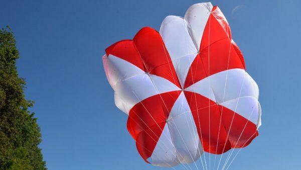 Supair Fluid Square Reserve Parachute Paramotor Paragliding PPG Emergency Rescue