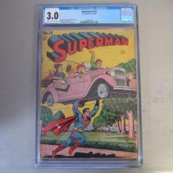 Superman #19 CGC 3.0 Comic Book  1942