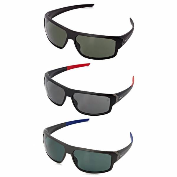 TAG Heuer Men's Racer 2 9223 Sport Wrap Around 70mm Polarized Lens Sunglasses