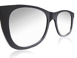 THE OFFICIAL FABULOUS SUNGLASSES OVERSIZED CONTEMPOROARY MODERN WALL MIRROR