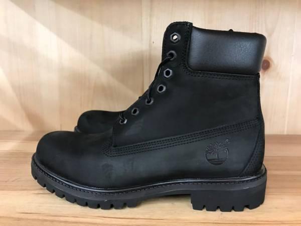 Buy Best TIMBERLAND 6'' 6 INCH PREMIUM BOOT CONSTRUCTION BLACK NUBUCK SZ 8-13  10073
