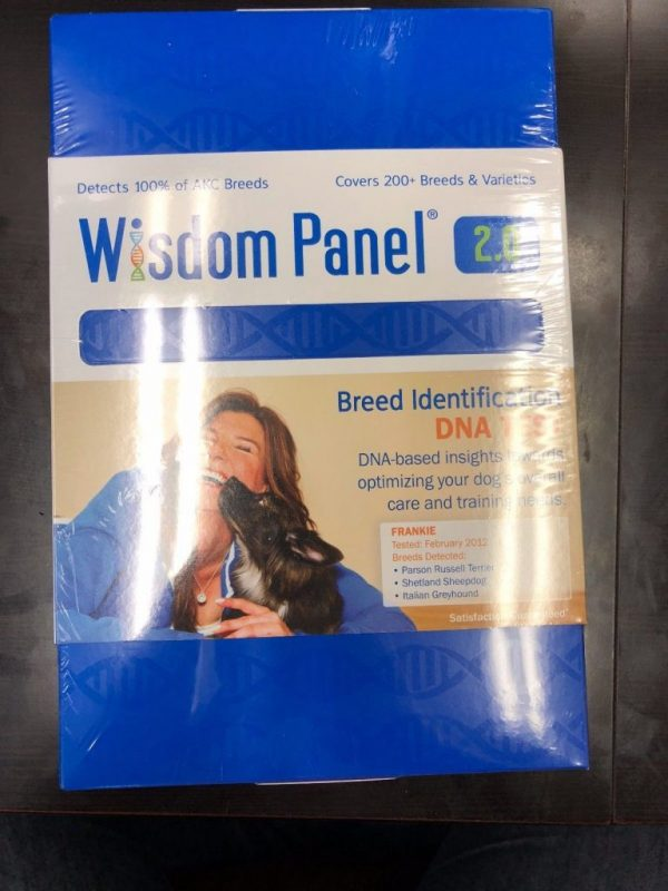 Test Dog DNA Mars Veterinary Wisdom Panel 2.0   ID -WP-DNA Insights Breed