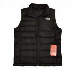 The North Face Men's Aconcagua Vest in TNF Black  550 Fill Down Sz S-XL NEW