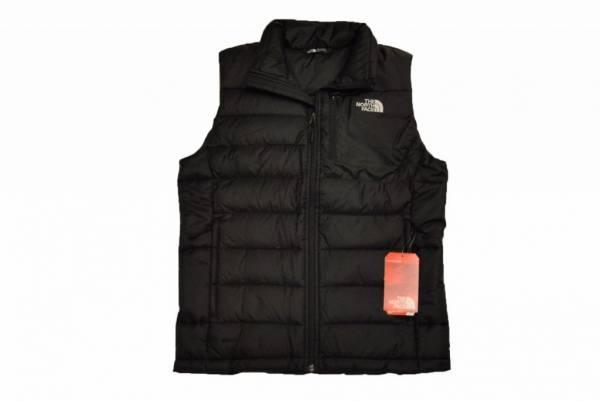 The North Face Men's Aconcagua Vest in TNF Black  550 Fill Down Sz S-XL NEW