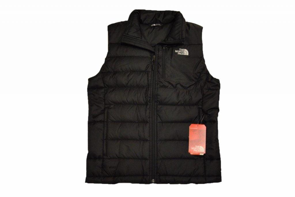 The North Face Men's Aconcagua Vest in TNF Black 550 Fill ...