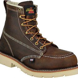 """Thorogood 814-4375 6"""" Weinbrenner Union-Made in USA Moc Toe Non Slip Work Boots"""