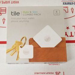 Buy Best Tile Mate & Slim Combo Pack Key/Wallet/Item Finder, 4-pack Pack, New