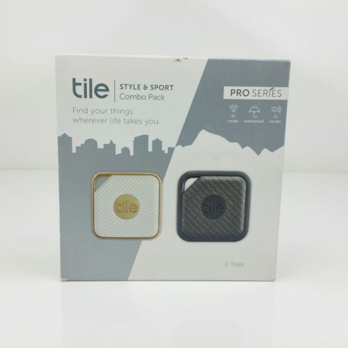 Tile PRO SERIES STYLE & SPORT 2 Pack COMBO PACK-KEY FINDER. WATERPROOF!