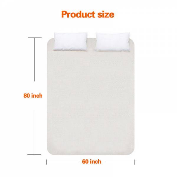 Buy Best Twin /Queen /King Electric Heated Mattress Pad w/ Temperature Timing Control NEW