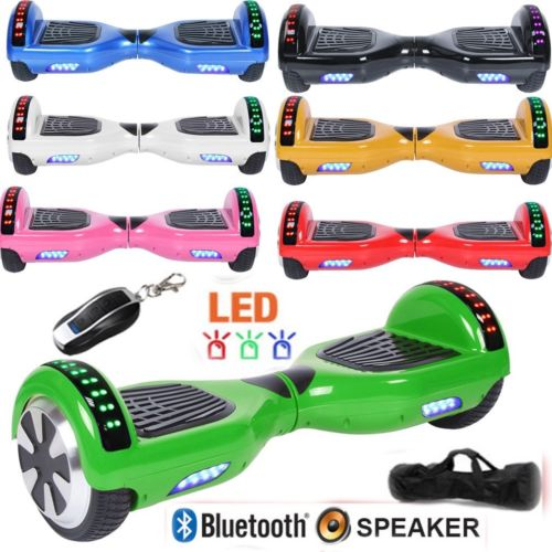 "UL2272 Certified 6.5"" Electric Hoverboard smart self balancing scooter"
