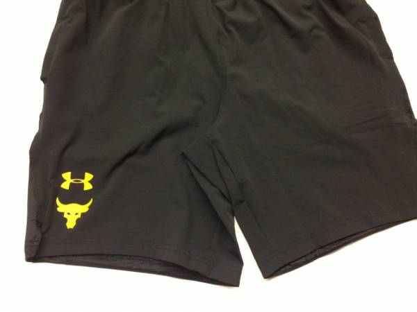 """Buy Best Under Armour UA x Project Rock Cage Short 8"""" Rock Work Out Shorts"""