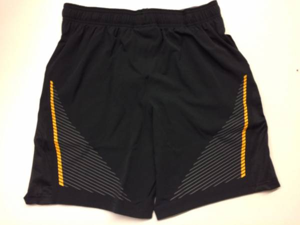 """Under Armour UA x Project Rock Cage Short 8"""" Rock Work Out Shorts"""
