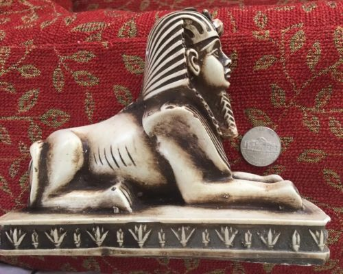 Buy Best Unique Rare Vintage Egyptian Great Sphinx of Giza Replica Handmade in Egypt!!WOW