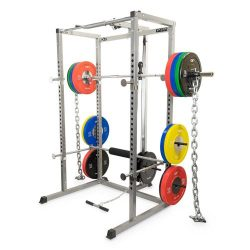 Buy Best Valor Fitness BD-7 Power Rack with Lat Pull Attachment, Solid Steel Construction