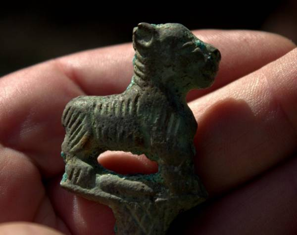 Buy Best Very Old Hand Made Bronze Luristan Lion Hair Pin Artifact