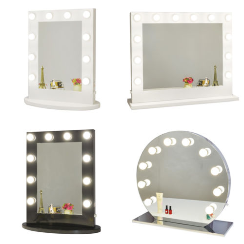 Buy Cheap White Vanity Lighted Hollywood Makeup Mirror