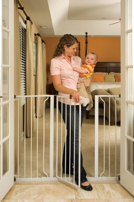 Buy Best Widespan Gate Extra Tall Large Decor Metal Swing Porch Baby Kid Safety Pet Home
