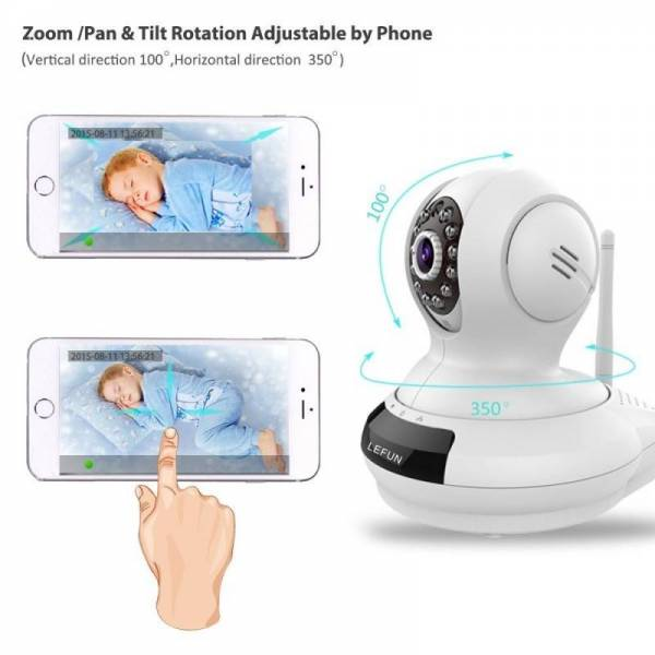 Buy Best Wireless Camera Baby Monitor WiFi Video Record Remote Motion Audio Night Vision