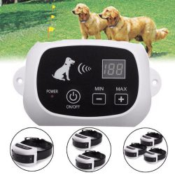 Buy Best Wireless Rechargeable 1-2-3 Dog Fence No-Wire Pet Containment System Waterproof