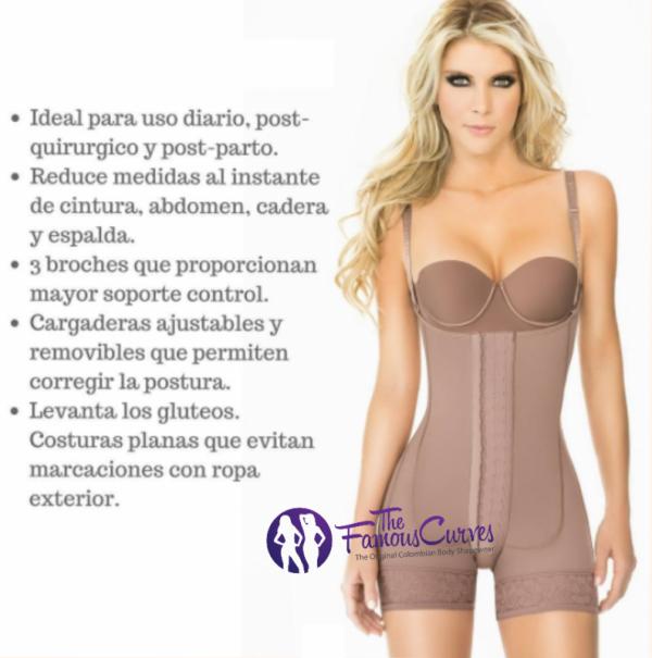 Women's Fajas Colombianas Ann Reductoras Original Butt Chery Lifter Levanta Cola