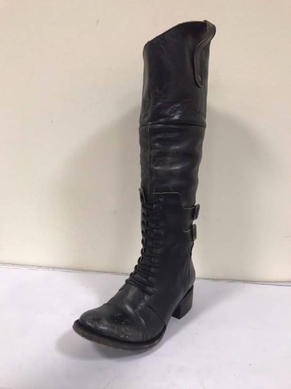Women's Freebird By Steve Riding Boots Sadle Black- MSRP $349 - BUY IT NOW $119!