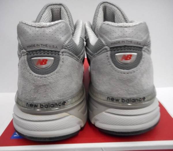 Women's New Balance 990v4 Running Shoe W990GL4  Grey/Castlerock Select-a-Size