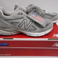 Women's New Balance 990v4 Running Shoe W990GL4  Grey/Castlerock Select-a-Size
