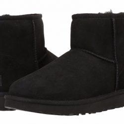 Buy Best Women's Shoes UGG Classic Mini II Boots 1016222 Black 5 6 7 8 9 10 11 *New*